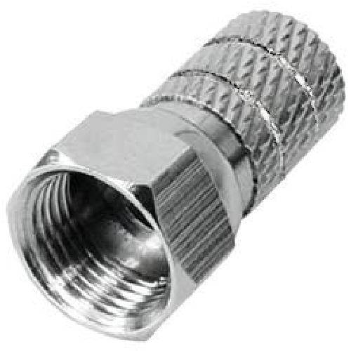 F Twist On connector for cable Ø5.0~5.2 mm