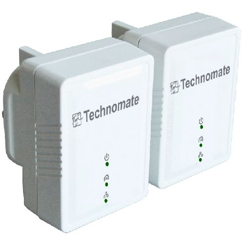HomePlug Ethernet Adapter & Wireless Extender