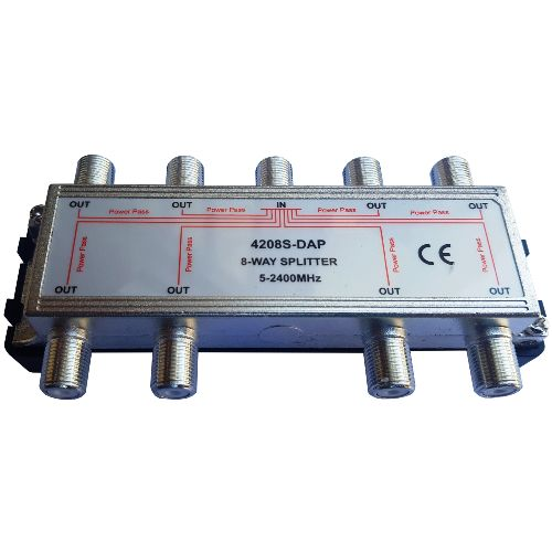 4208S-DAP - 8 way 2.4 GHz splitter - 2