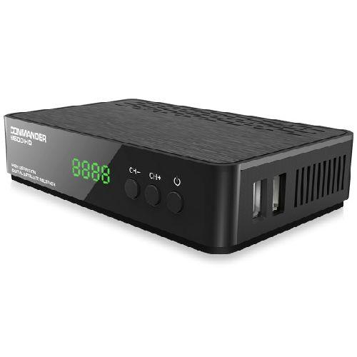 COMMANDER 9500HD Satellite receiver -2