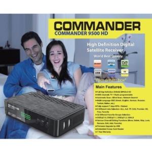 COMMANDER 9500HD Satellite receiver -box