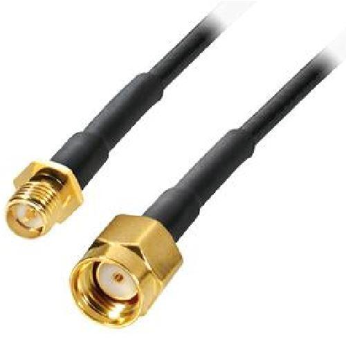 RSMA male to RSMA female cable, 10m
